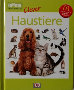 Memo clever Haustiere. Happy Meal Sonderausgabe. Textauftrag für DK Verlag 2017
